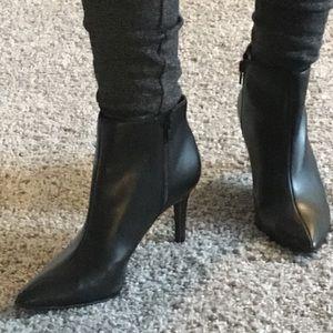 Jessica Simpson Black Ankle Bootie